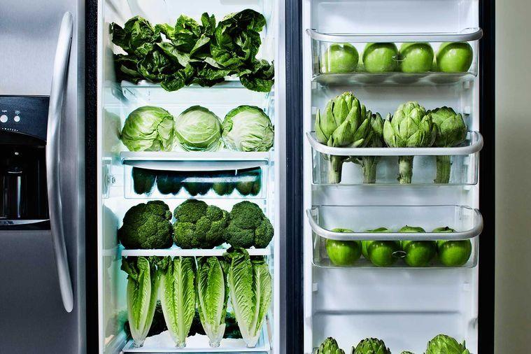 سبزیجات معطر در یخچال پلاسیده میشوند