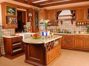 دکوراسیون آشپزخانه ایرانی ساده به سادهترین روش ممکن