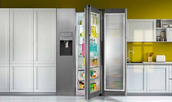 یخچال گالری اسنوا تجلی نظم در کنار تکنولوژی روز دنیا