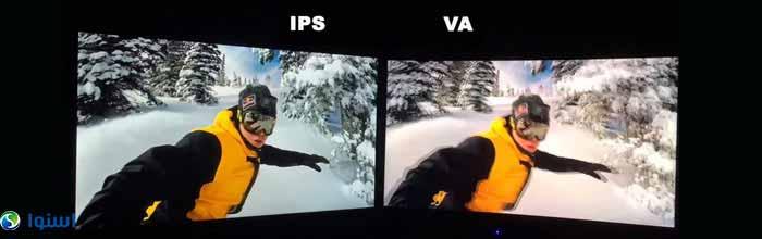 مقایسه پنل IPS با پنل VA