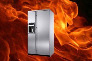 چگونه علت داغ شدن بدنه یخچال را پیدا کنیم؟