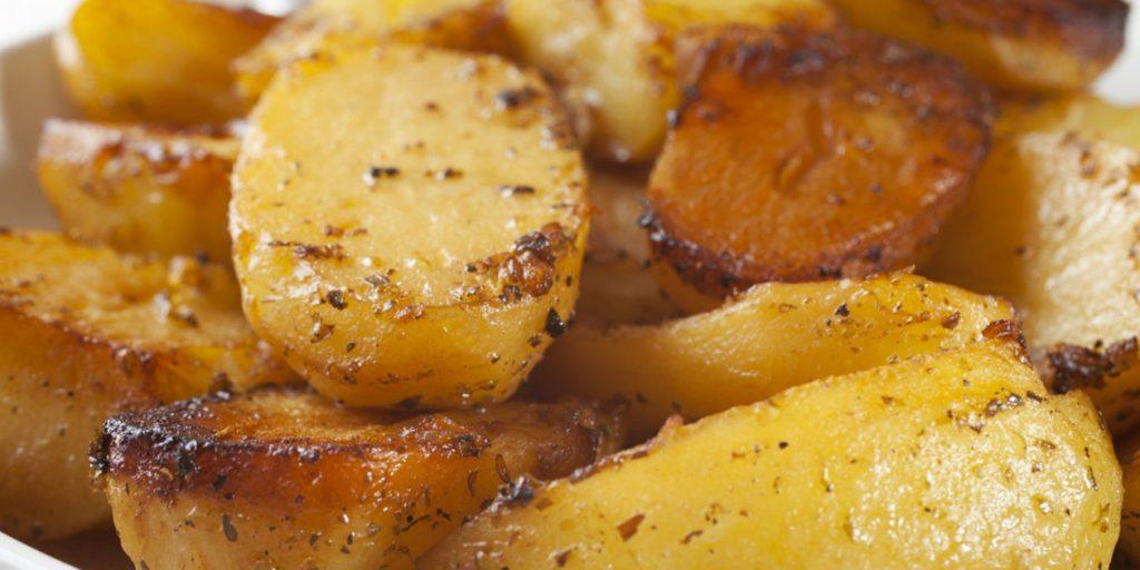 سیب زمینی شکم پر