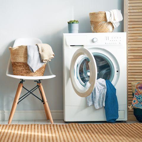 شستن روتختی در لباسشویی