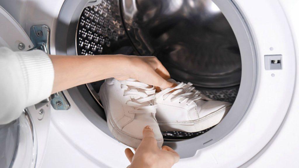 نحوه شستن کفش در ماشین لباسشویی