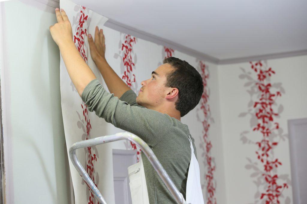 کاغذ دیواری مناسب برای آشپزخانه