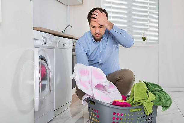 اضافه کردن لباس حین شستشو