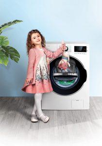 معرفی قابلیت هوشمند wash in wash  در ماشین لباسشویی های اسنوا