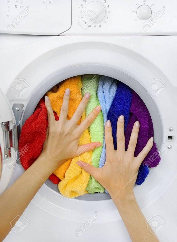 برگرداندن رنگ لباس ها هنگام شستشو