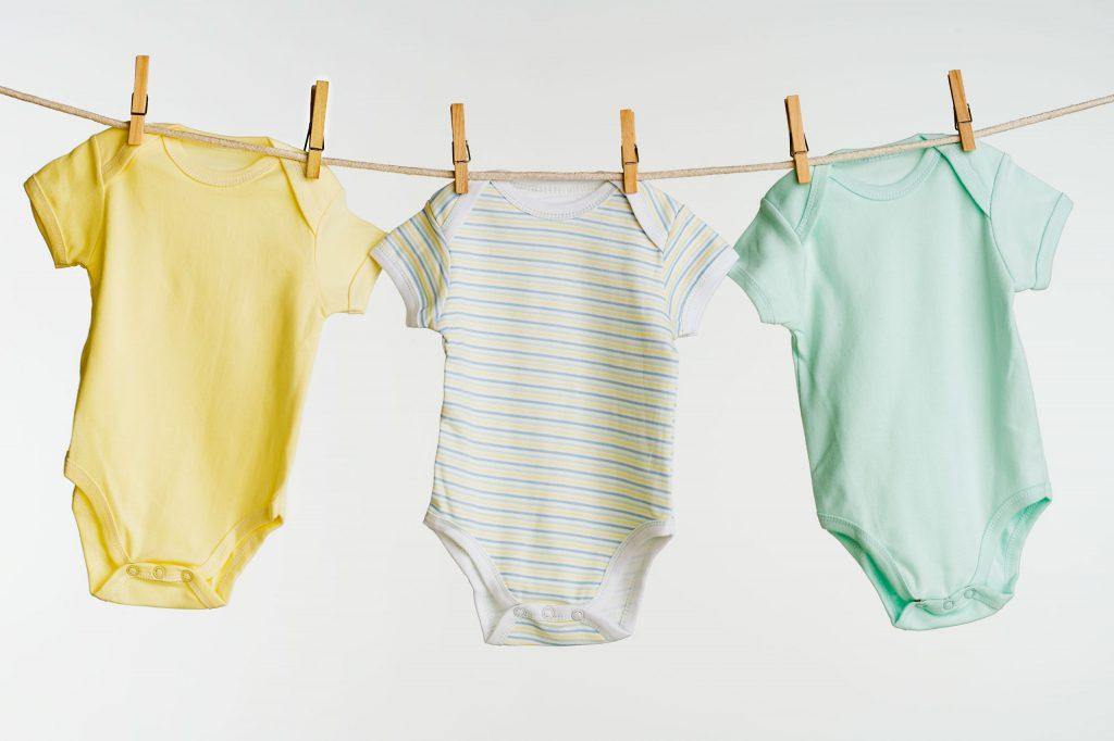 شستشوی لباس نوزاد و کودک