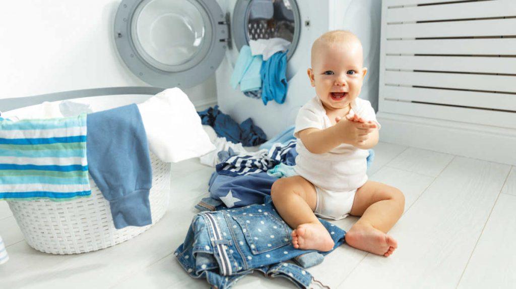 نکاتی برای شستشوی لباس نوزاد