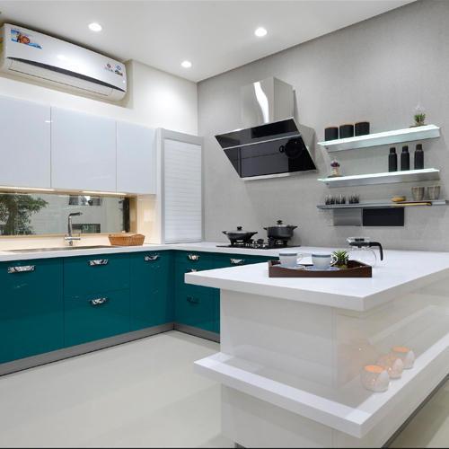 َآشپزخانه مدرن سفید