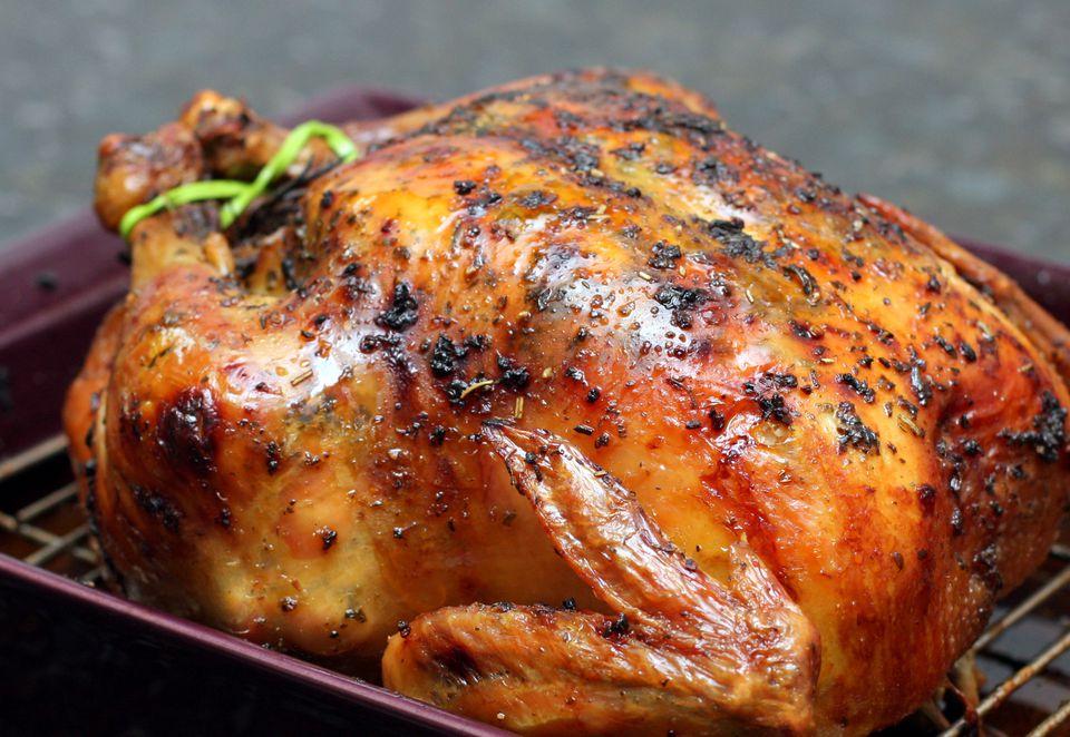 طرز تهیه مرغ بریان در مایکروفر