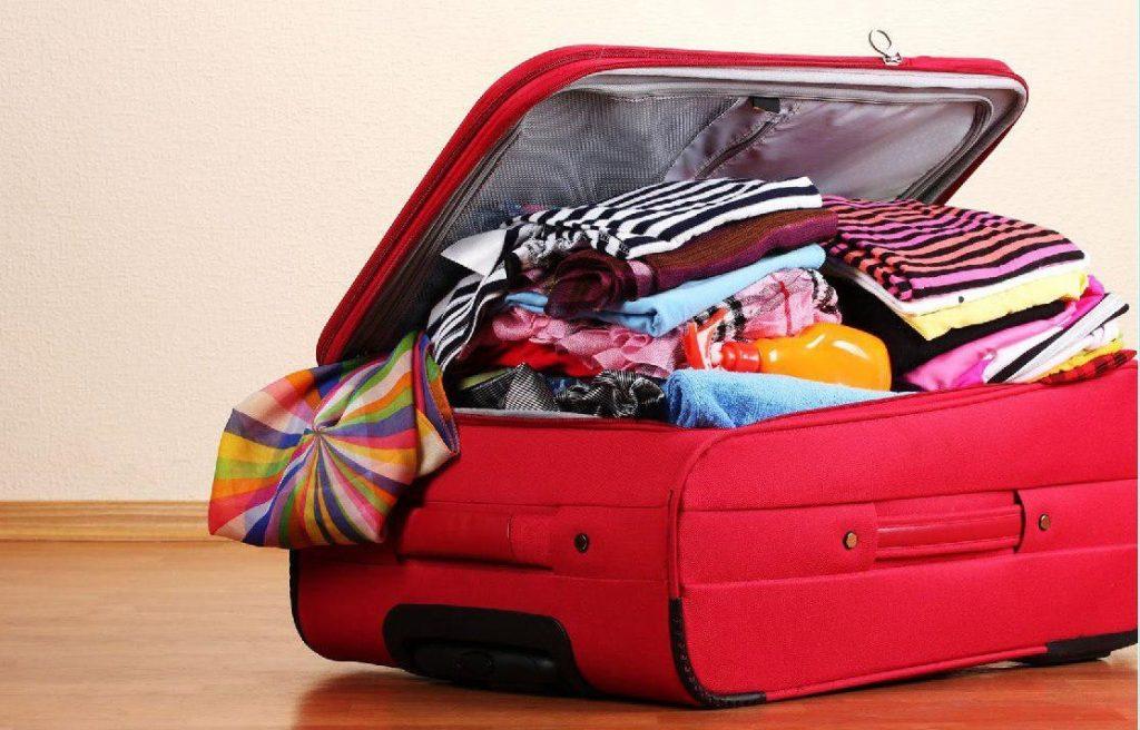 جلوگیری از چروک نشدن لباس در چمدان